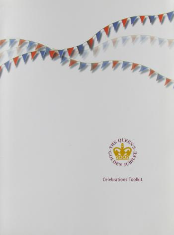 Designed the stationery and publicity material for HM The Queen's Golden Jubilee