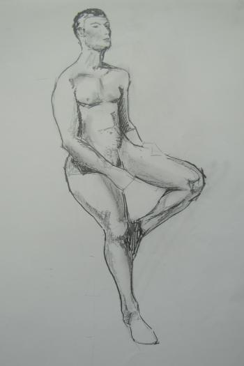 A male nude (A2)